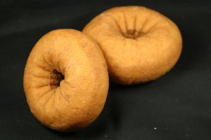 TF Peach Flavored Cake Donuts