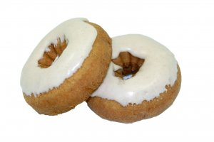 TS Cinnamon Iced Snickerdoodle Cake Donut